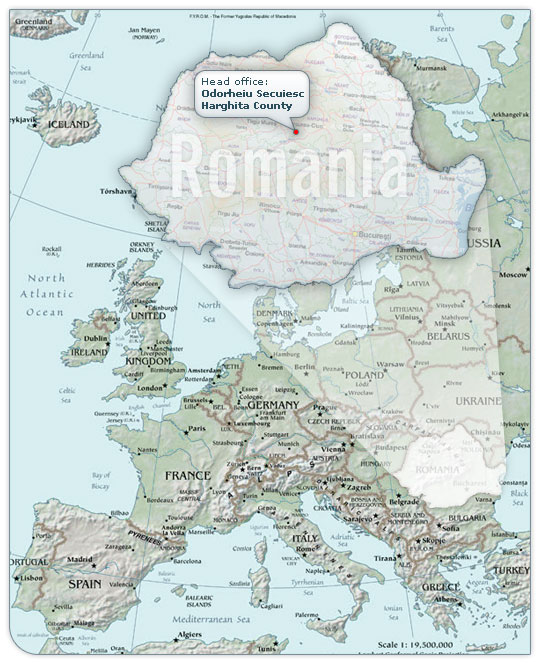 political map of romania. pictures Russia Political Map